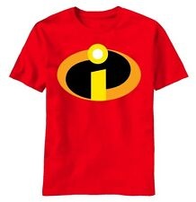 The Incredibles Pixar Movie Costume Basicon tee t-shirt S-M-L-XL 2XL XXL