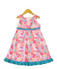 Butterfly Party Dress by Frangipani Kids Summer Party Dress Toddler Baby Girl