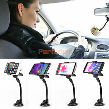 Universal 360 Rotary Car Holder Windshield Mount Cradle for Smart Cell Phone GPS