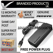 Genuine Original IBM LENOVO Power SUPPLY Laptop AC Adapter Charger + Free Cable