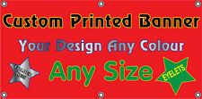 Full Colour Outdoor Printed PVC Vinyl Banner Custom Promotional Any Size