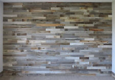 Rustic Barn Wood Country Wall Accent Wainscot Paneling (Choose Size and Colors!)