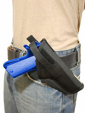 New Barsony OWB Cross Draw Gun Holster for Smith & Wesson Full Size 9mm 40 45
