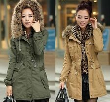 Brand New Women Thicken Warm Winter Coat Hood Parka Overcoat Long Jacket Outwear