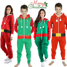 Ladies Mens Elf Santa Christmas All One Unisex  Novelty Onesie Plus Size S-XXXXL