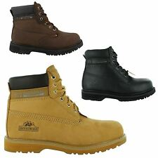 NEW MENS GROUNDWORK LACE UP STEEL TOE SAFETY ANKLE BOOTS SHOES SIZES UK 7-12