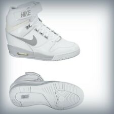 Nike Wmns Air Revolution Sky Hi All White Grey 599410-102