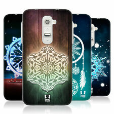 HEAD CASE SNOWFLAKES GEL BACK CASE COVER FOR LG G2 D802