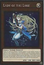 YU-GI-OH: PLATINUM RARE - LADY OF THE LAKE - NKRT-EN013 - LIMITED EDITION