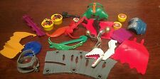 80's HE MAN MOTU action figure ARMOUR WEAPON PART ACCESSORY ~ selection MASTERS