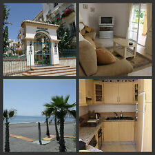 Spanish holiday apartment spacious sleeps 6 great location 1 minute to beach