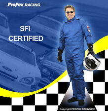 PROFOX SFI-5 3 Layer Race Racing Driver Driving Fire Resistant Suit Suits