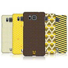 HEAD CASE DESIGNS BUSY BEE PATTERNS CASE COVER FOR SAMSUNG GALAXY ALPHA G850