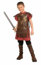SALE! Kids Roman Soldier Warrior Gladiator Boys Fancy Dress Costume Party Outfit