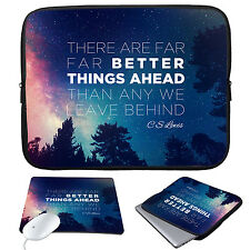 """11-15.6"""" Waterproof Laptop Sleeve Case Bag+Mouse Pad For MacBook Pro Air HP Acer"""