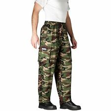 Chefwear 3200-96 Cargo Chef Pant, Camoflage all sizes XS-5XL NEW!
