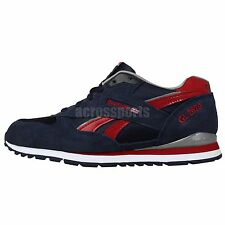 Reebok GL 2620 Navy Red 2014 Youth Boys Kids Retro Classic Casual Shoes Sneakers