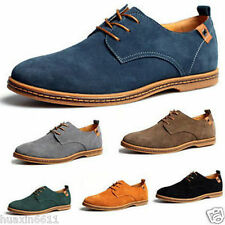 New Suede European style leather Shoes Men's oxfords Casual 11 Size Fashion