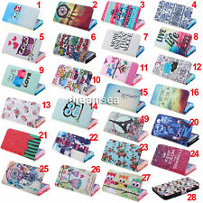 Rainbow Wallet Leather Flip Skin Case Cover Stand For Samsung Galaxy S5 i9600