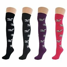 4 Pairs Womens Ladies Girls Over Knee Thigh High Bunny Rabbits Pattern Socks New