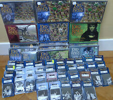Warhammer Lord of the Rings Sealed Blisters & Boxes MULTI LIST! NEW & OOP!