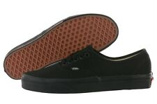 NEW NIB Vans Authentic Era Canvas VN-0EE3BKA ALL Black Shoes Medium (D, M) Mens
