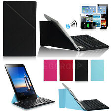 "Ultra Thin Bluetooth Keyboard With Case For 7"" ~ 10.1"" Tablet PC Android Windows"