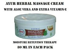 AYUR HERBAL MASSAGE CREAM WITH ALOE VERA PREVENTS AGEING & DEHYDRATION OF SKIN