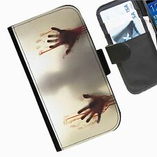 The Walking Dead Leather wallet phone case for Samsung Galaxy Active Alpha Note