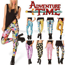 2014 Pirate Punk Galaxy Pants Digital Printing ADVENTURE TIME Legging For Women