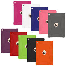 Amzer Soft Gel Silicone Skin Fit Jelly Case Back Cover For Apple iPad Air 2 2014
