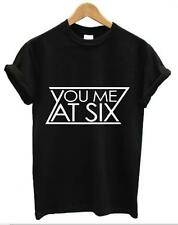 YOU ME AT SIX T SHIRT MUSIC INDIE ROCK BAND BRITISH TAKE OFF YOUR COLOURS UNISEX
