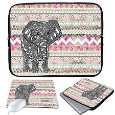 """11-15.6"""" Laptop Soft Sleeve Case Bag+Mouse Pad For MacBook Pro Air HP Dell Acer"""