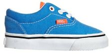 VANS ERA 2 TONE NEON BLUE NEON CORAL TODDLER SHOES CHILDRENS CASUAL SNEAKERS