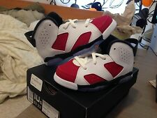 Nike Jordan 6 Retro BT Carmine 384664 160 Infant Sizes