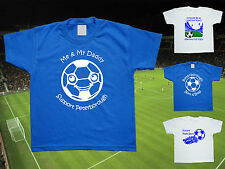 PETERBOROUGH UNITED Football Baby/Children's T-shirt Top Personalised-Any colour