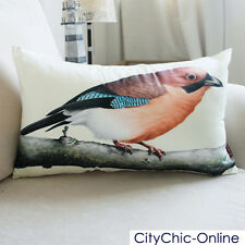 50cmx30cm Decorative Birds Cushion cover 3 colors