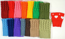Women's Knit Boot Cuffs Toppers 15 Colors!