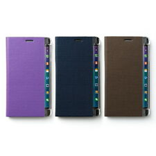 Zenus Metallic Leather Slim Thin Diary Cover Case For Samsung Galaxy Note Edge