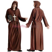 Adult Funny Drunk Monk Medieval Halloween Costume Fancy Dress Up Party