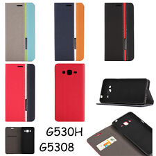 Wallet Leather Flip Stand Case Cover For Samsung Galaxy Grand Prime G5308 G530H