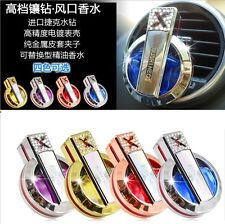 Luxury Diamond Car Outlet Stent Air Freshener Auto Perfume Diffuser Fragrance