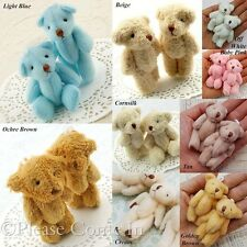 10 to 50 Teddy Bear Party Favors 60mm