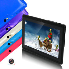 "Quad Core 8G/16GB 7"" Tablet PC A33 Google Android 4.4 Capacitive WiFi Dual Cam"