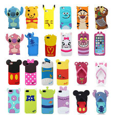 3D Cute Cartoon SuperHero Soft Back Silicone Cover Case For Apple iPhone 5S 5C 6