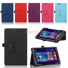 Folio PU Leather Case Stand Cover For Walmart EFUN Nextbook 8 Windows 8.1 Tablet