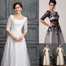 Crazy PROMO Mother Of The Bride Vintage Formal Evening Wedding LONG Dresses Gown