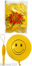 """16"""" Smiley Punch Ball Balloons Birthday Party Bag Fillers Pinata Toys Kids"""