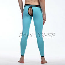 Sexy Mens Soft Comfy Hollowed Back Long Johns Leggings Pants Underwear Trousers