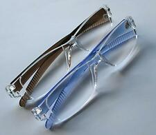 Z008 Cheap Reading Glasses +1.5 In BLUE +2.0 In TRANSPARENT +2.5 In BROWN